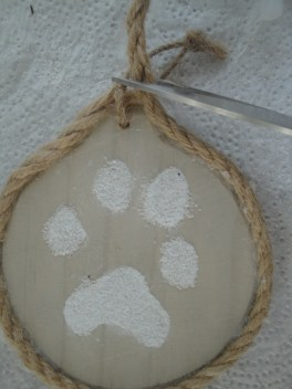 paw print ornament rope (2)